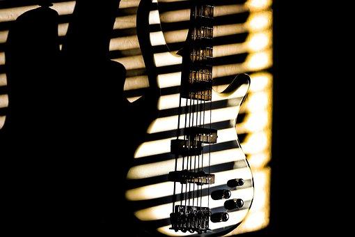 Bass, Guitar, Music, Shade, Rock, Instrument, Guitarist