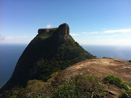 Nature, Pedra Da Gávea, Landscape, Stone, Rock