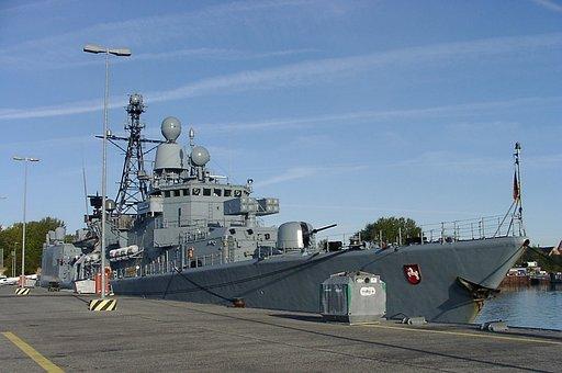 Frigate, Lower Saxony, Scheer Mole, Kiel Naval Base