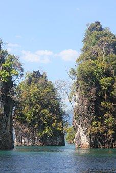 Natural, Scenery, Koh Sok, National Park, Thailand
