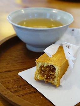Pineapple Tart, 黄梨酥挞, Chinese Tea, Snack, Taiwan