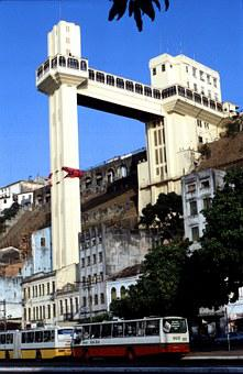 San Salvador, Lift, City, Brazil, South America