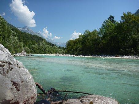 River, Soca, Nature, Isonzo, Slovenian