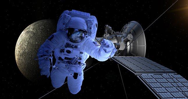 Astronomy, Satellite, Moon, Forward, Space Travel