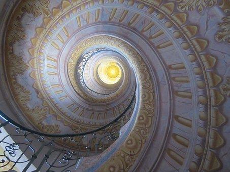 Staircase, Snail, Spiral Staircase