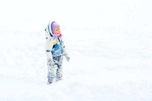 Baby, Winter, Frost, Snow, Story, White, Snowdrift