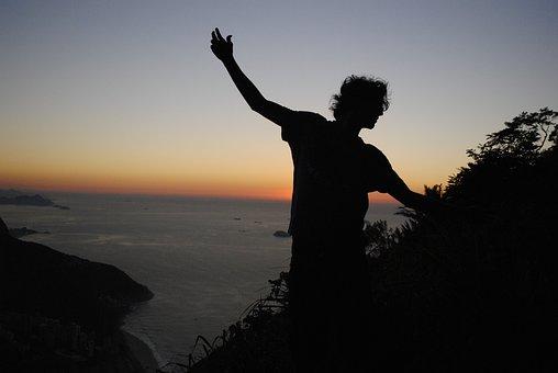 Sunrise, Pedra Da Gávea, Sol, Gold, Peace, Beauty