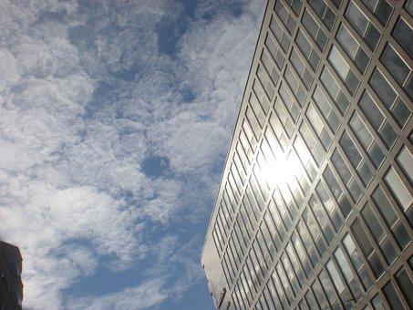 Building, Sunshine, Mol, Stockholm