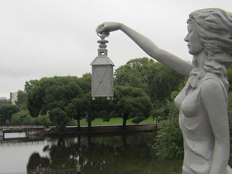 City, Kirov, Vyatka, Assol, Statue