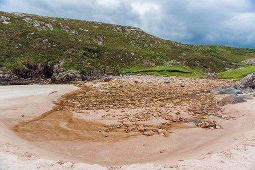 Ceannabeinne Beach, Beach, Sand, Warm, Swim, Landscape