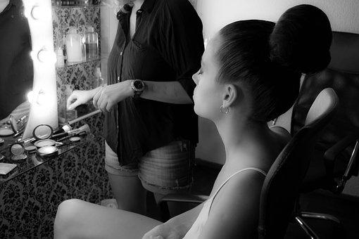 Model, Backstage, Fashion, Makeup, Women, Hairstyle