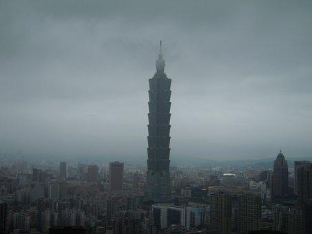 Taipei 101, A Surname Mist, Spring, Skyscraper, Top