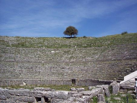Dodoni, Ancient Theater, Greece, Archaeological