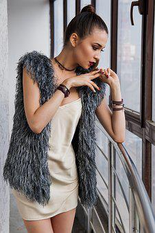 Girl, Window, Railing, Balcony, Shirt, Model, Bracelets