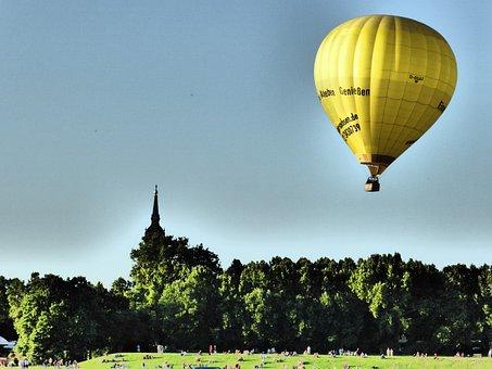 Captive Balloon, Hot Air Balloon, Air Sports, Balloon