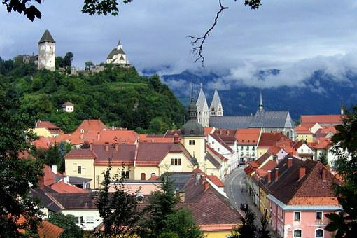 Friesach, City, Castle, Carinthia, Building