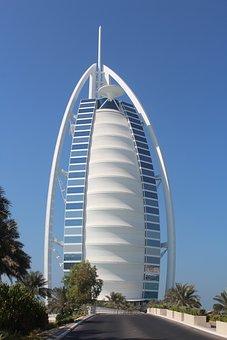 Dubai, Burj Al Arab, Seven-star Hotel