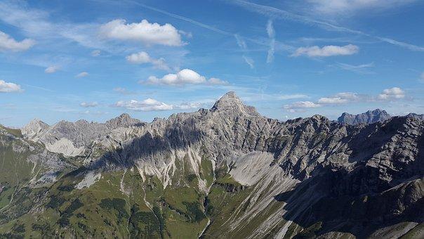 Hochvogel, Allgäu, Mountains, Oberallgäu, Alpine
