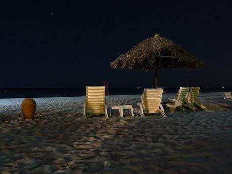 Beach, Sand, Sea, Water, Holiday, Bank, Tourist