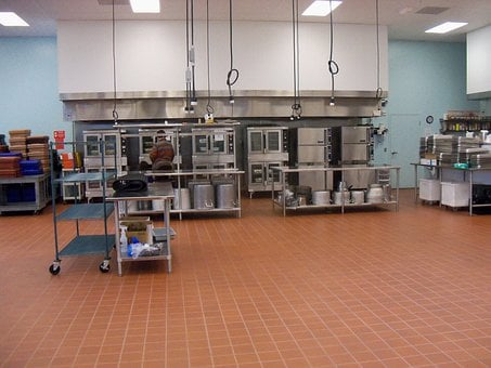 Commercial Kitchen, Food Processing, Kitchen