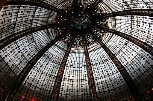 Lafayette Galleries, Lafayette, Dome, Paris