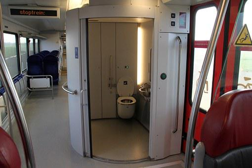 Arriva Spurt, Train, Interior, Toilet, Netherlands