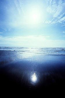 Sky, Sea, A Surname, The Waves, Water
