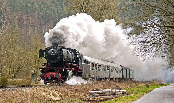 Steam Train, Steam Locomotive, Plan Steam, Early Train
