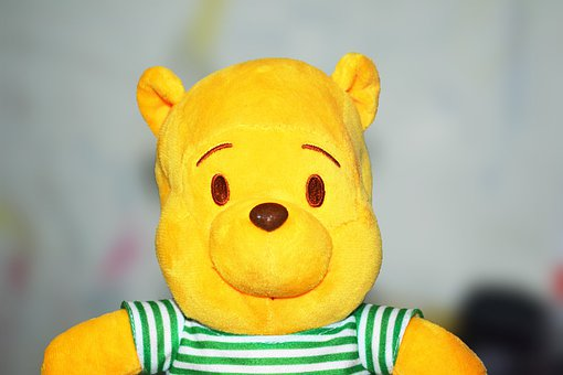 Whinny The Pooh, Teddy Bear, Cute, Toy, Children, Joy