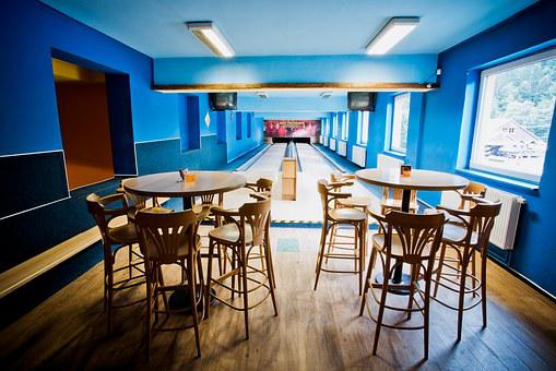 Hotel, Podjavorník, Bowling, Bar