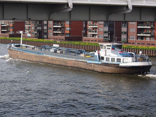 Amatis, Canal, Ship, Vessel, Transport, Freight, Cargo