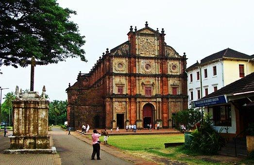 Goa, Basilica, Bom Jesus, Church, Cathedral, City