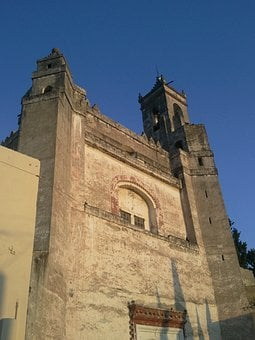 Church Of Tepeaca, Church, Puebla, Mexico