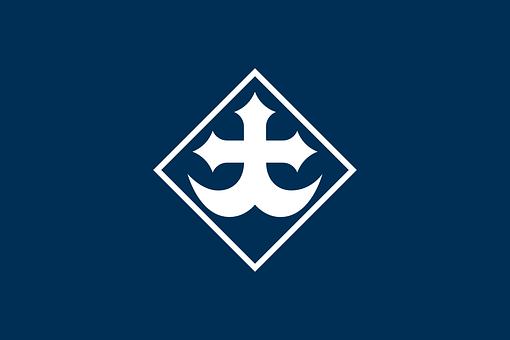 Flag, Okayama, Japan, Japanese, Asia, Asian