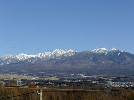 Nagano, Snow Mountain, Hakuba Mountain Range