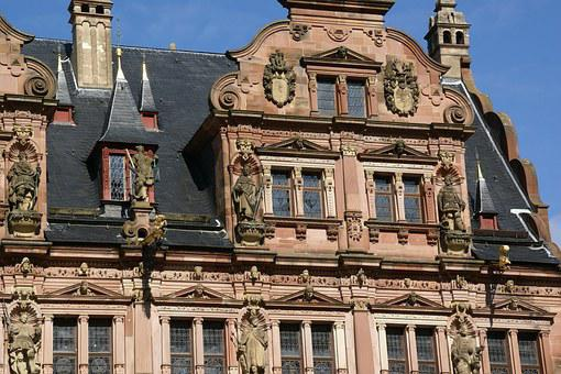 Friedrichsbau, Castle, Heidelberg, Germany, Building