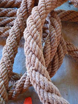 Rope, Dew, Thick, Hemp