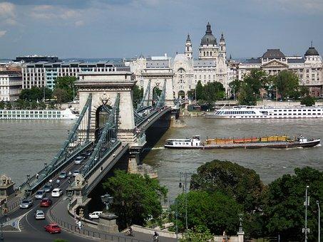 Chain Bridge Budapest, Hungary, Bridges In Budapest