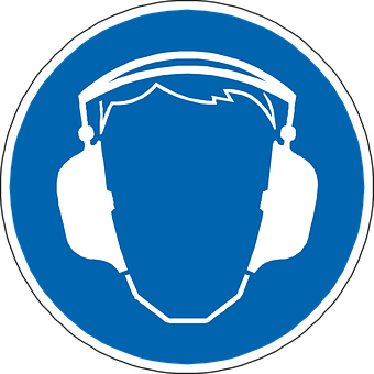 Ear Protection, Hearing, Earphones, Sign, Symbol, Icon