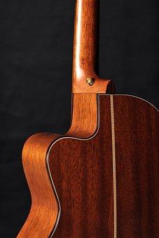 Acoustic Guitar, Guitar, Wooden, Music, Acoustic