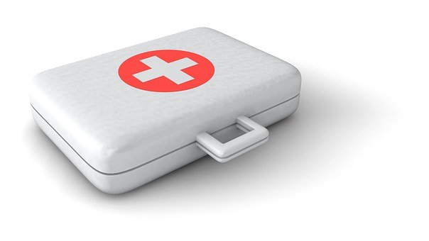 Doctor, Luggage, Verbandszeug, Patch, Association Case