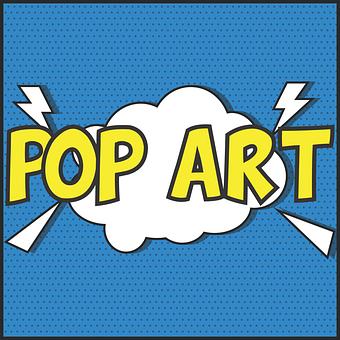 Pop Art, Design, Colour, Vintage, Art, Pop, Message