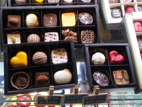 Handmade Chocolates, Gift, Pretty, Chocolates