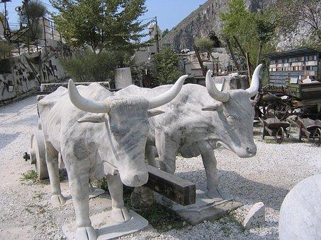 Carrara, Marble, Quarry, Mining, Italian, Rock