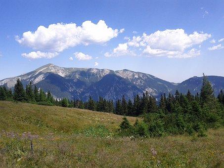 Snow Mountain, Rax Schneeberg Group, Mountain, Austria