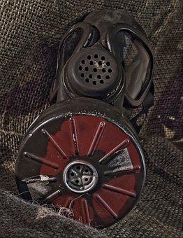 Gas Mask, Respiratory Mask, Gift, Poison Gas, Military