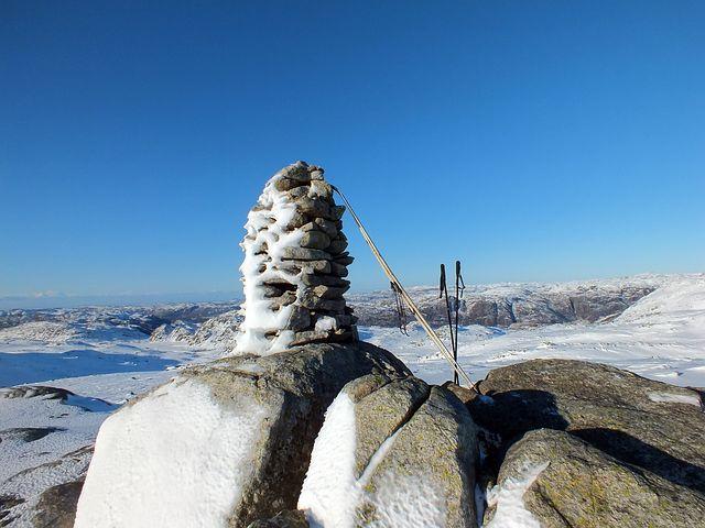 Summit, Winter, Snow, Snow Mountain, Outdoor, Skiing