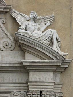 Trnava, Slovakia, Angel, Architecture, The Façade