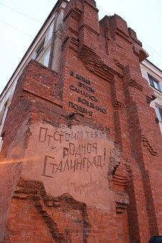 War, Stalingrad Metro Station, The Ruins Of The