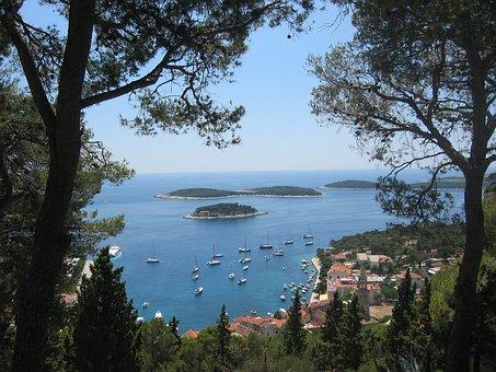 Hvar, Adriatic Sea, Croatia, Beautiful, Coastline